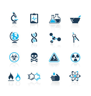 Science icons sur VectorStock.com