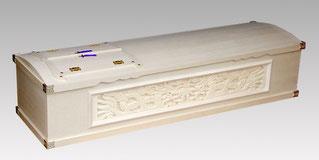 彫刻三面棺