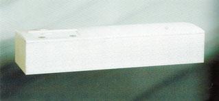 高級布張り棺(白)