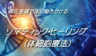 潜在意識で体に働きかけるソマティックヒーリング(体細胞療法)
