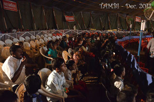 Thambi Illam inside the circus - December 2012