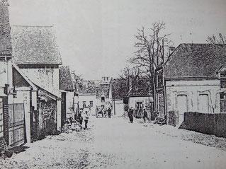 Planty,entrée du village