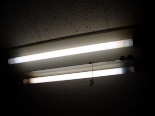 20W型非常灯内蔵型施工前