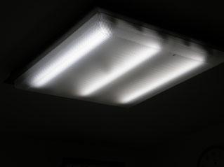 2灯減らし3灯式に変更