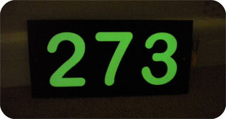 Prices for Glow in the dark Digits and Plaque Single £15.Double£20Treble £22