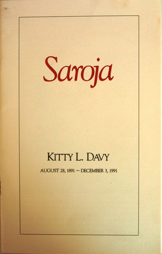 Kitty's Memorial brochure