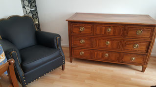 restauration de commode