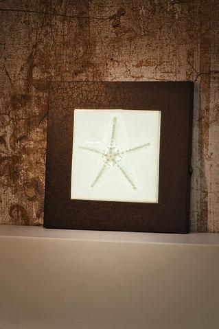 Wandleuchte STARFISH aus Porzellan, Bone China, Neuzeughammer Keramik, Beate Seckauer