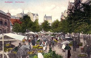 Der Neumarkt um 1905