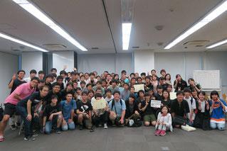 AQL2018埼玉リーグ終了後の記念撮影です!皆さんの力を結集して、楽しい一日を作り上げます。