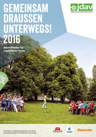 JDAV Bestellflyer Sommer 2016