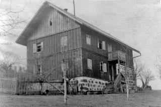 """1930 (ca) """"Lichtschneider"""" (Reitzelsdorfer) in Kopfingerdorf"""