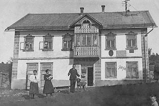 1925 Schmidbauer (Kopfing Nr. 32): Postamt und Ordination Dr. Weissensteiner