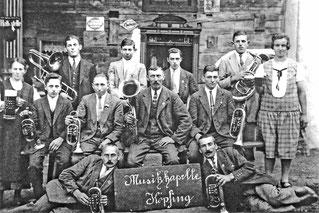 1927 Musikkapelle Kopfing