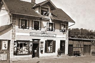 """1937 Wagnerhaus (1937, """"Handlung Fanni Grüneis"""")"""