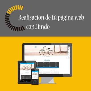 Realisación de tu página web con Jimdo