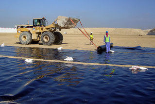 Welding and Installation of HDPE Geomembranes