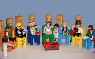 Playmobil, Systemaufstellung 1
