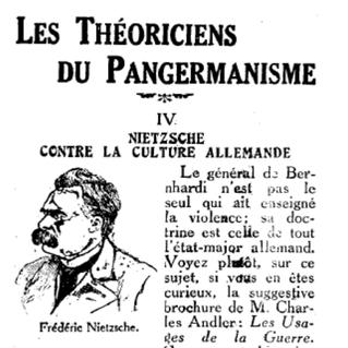 Nietzsche Rezeption in Frankreich