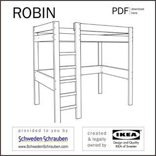 ROBIN Anleitung manual IKEA Kinderbett