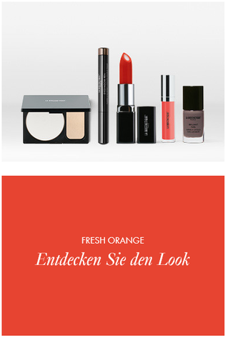 Make-up Collection Spring Summer Look Fresh Orange