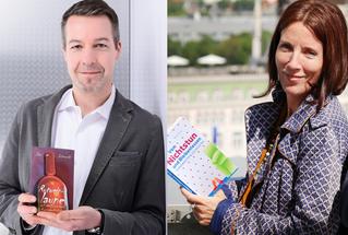 Autoren Jan Lipowski und Brit Gloss, Doppel-Lesung, Dresden, Chemnitz