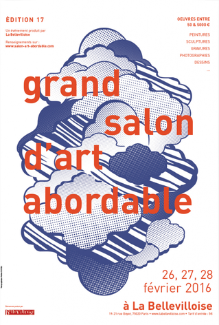affiche, grand salon d'art abordable