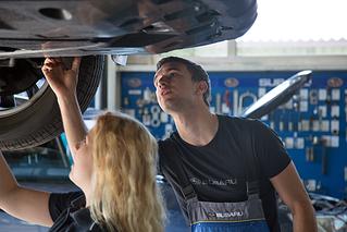 Central-Garage Hess AG - Subaru Garage - Dienstleistungen