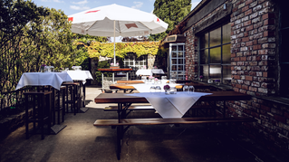 Impression of the outdoor area of the Bistro