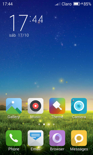 Geak Launcher Themes - Duophased Themes