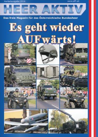 Heer Aktiv, das freie Magazin im Österreichischen Bundesheer.