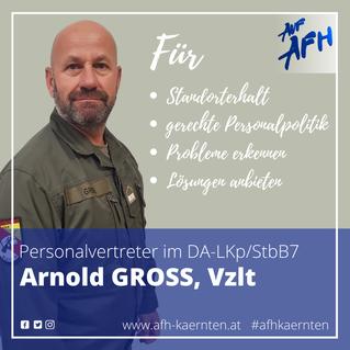 Personalvertreter im DA-Garnison Bleiburg: Arnold Gross