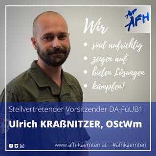 Stv. Vorsitzender im DA-FüUB1: Ulrich Kraßnitzer