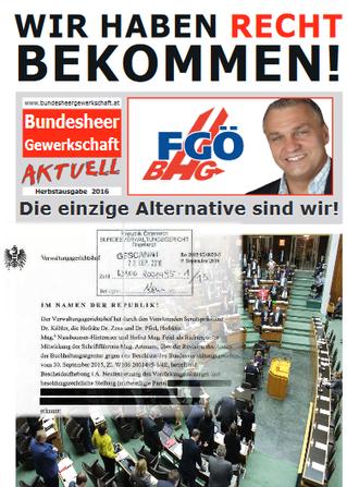 Die Freie Gewerkschaft Österreich, wir die einzige Alternative.