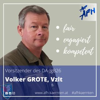 Vorsitzender im DA-JgB26: Volker Grote