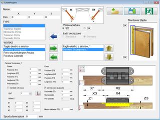 Vista pagina creazione programmi (create program)