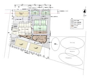 エコアパート敷地図面