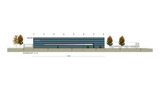 Entwurf Industriegebäude