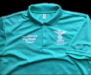 お得な個人ネームパックのポロシャツの写真