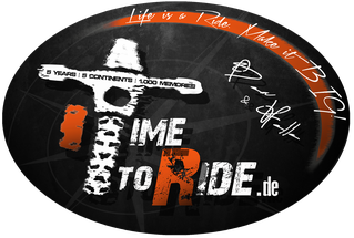 TimetoRide Original Sticker