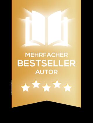 Label als mehrfacher Bestseller Autor.