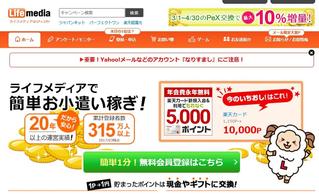 アンケートモニターライフメディア記事で月収10万円