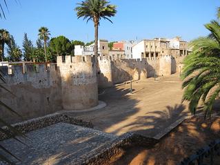 Murallas de Alzira, Ribera Alta, Valencia, Comunidad Valenciana, España.