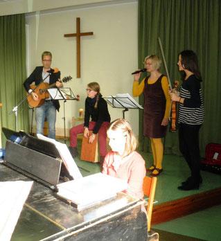 Das Musikteam