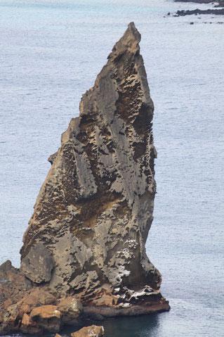 Galápagos Inseln: einen der schönsten Ausblicke auf Galápagos hat man auf der Insel Bartolomé