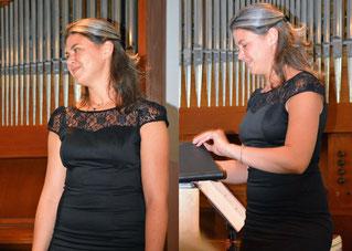 Charlotte Sander, Mezzosopran, Vürfels, Konzert