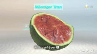 """Der """"wässrige Titan"""" sieht unserer Wassermelone doch verdammt änlich... oder nicht?"""