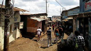 La gente. Kenya