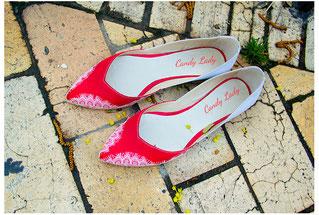 красные свадебные балетки киев москва bridal shoes pump wedding
