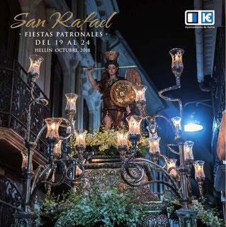 Fiestas de San Rafael en Hellín: programa y cartel